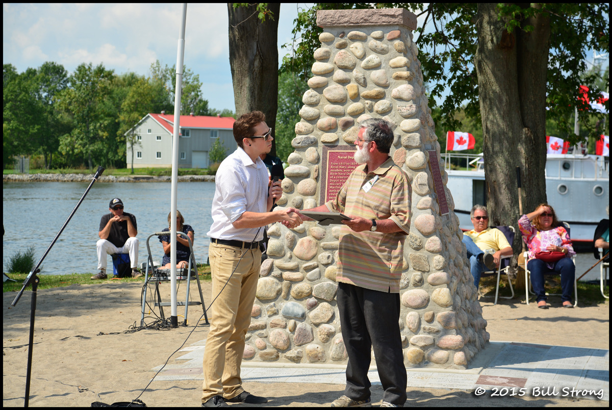 Daniel Dishaw - Ontario Historical Association & Bill Warnick